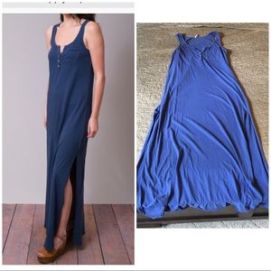 Z SUPPLY DUPLEX 100% cotton casual maxi dress L
